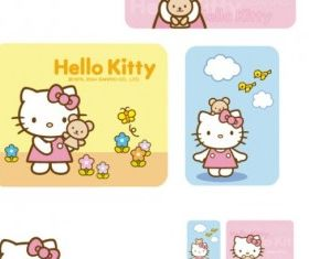 hello kitty official 17 vector set
