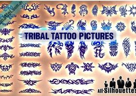 Tribal Tattoo Pictures design vectors