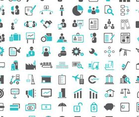 Business Icons graphic vector