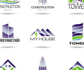 Real Estate Logotypes 10 vector