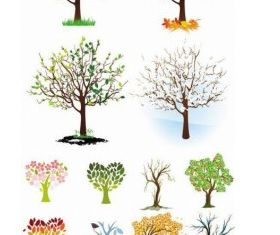 tree dream place to start design vector