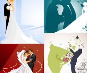 4 wedding wedding theme vector