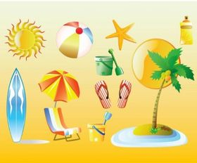 Summer Vacation Graphics vectors