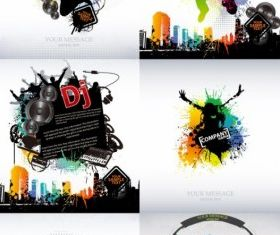 trend music posters vector graphics