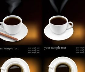 coffee theme Illustration vector