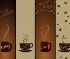 Coffee Banners vector design