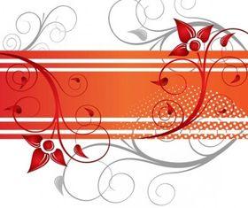Floral Design Free vector