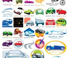 The car icon vectors graphic