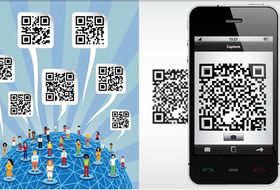 QR Codes free design vector