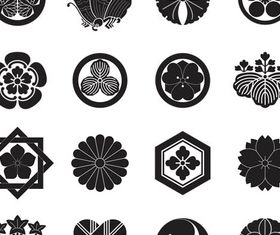 Japanese Ornaments vectors