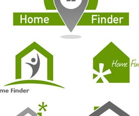 Real Estate Logotypes 9 vector design