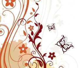 Abstract Floral Background art vector