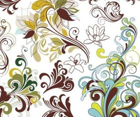 Floral Design Elements creative vector