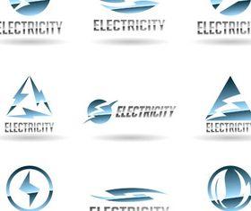 Shiny Electricity Logo art vector