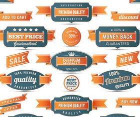Sale Stickers graphic vector