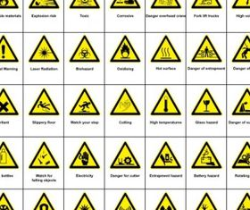 Hazard Warning clip Vector Graphics