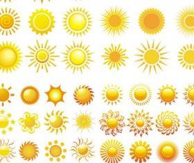 sun graphic vector