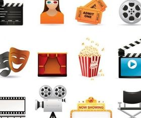 film icon vectors