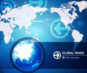 World Map Backgrounds creative vector