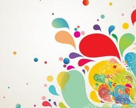 Abstract Splash Design Vector Illustration vector