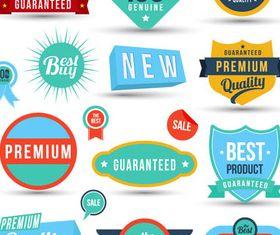 Sale Labels vector