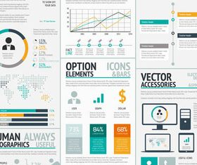 Business Infographics Elements 2 vector design