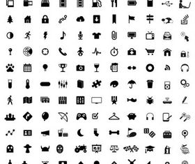 Web Icons Set 3 vector set