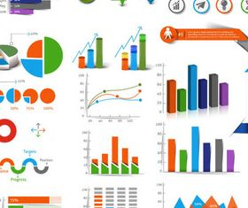 Infographic Diagrams vector