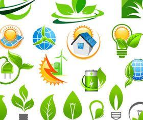 Ecology Symbols 3 vector