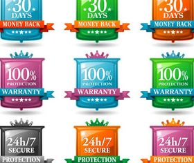 Sale Shiny Labels shiny vector