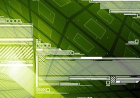 Green Tech Background Free design vectors