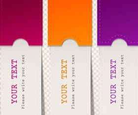 label Free vector material