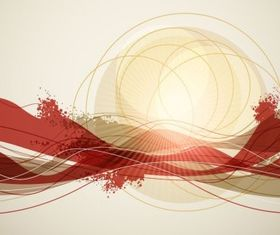 Abstract Background 2 vector graphics