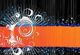 Black Orange Grunge Free vectors