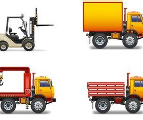 Forklift crane truck Free vectors graphic