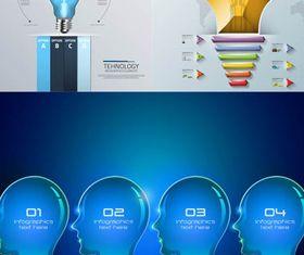 Business Ideas Backgrounds 14 design vectors