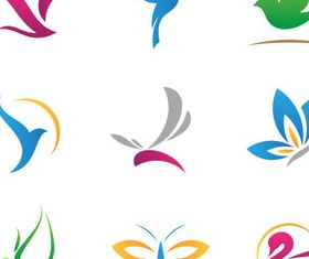 Birds Logotypes vectors graphics