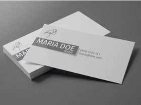 business cards template Free vector