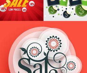 Sale Backgrounds 19 vector