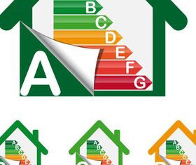 Energy Class Symbols vectors graphics