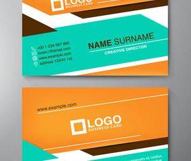 Stylish Business Cards Set 15 design vectors