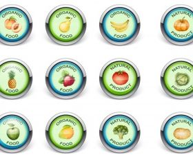 fruite and vegetables Free vector