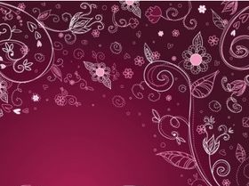 Ornate background pattern 01 vectors graphic