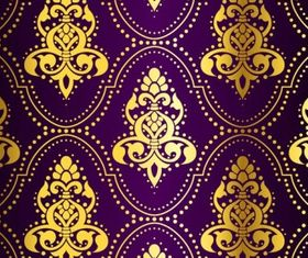ornate pattern background 1 vector