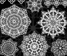 Classic pattern shading 04 vector