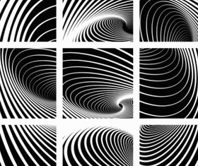 black white spiral pattern vecto 01 vectors graphics