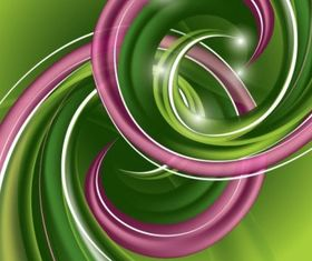 abstract spiral pattern 02 vector