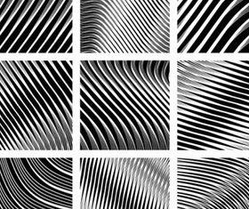 black white spiral pattern vecto 02
