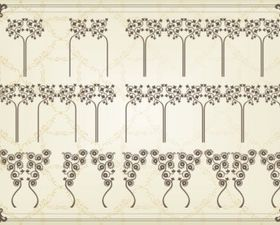 classic pattern 01 vectors graphics