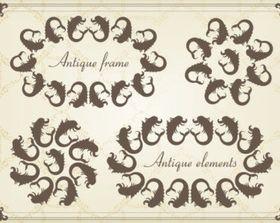 classic pattern 05 vectors graphics
